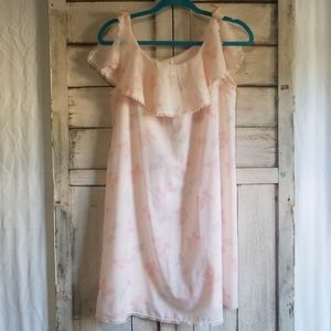 Vintage Henson 70s Baby Pink Butterfly Nightgown